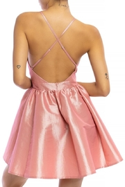 luxxel Satin Tutu Mini-Dress - Front full body