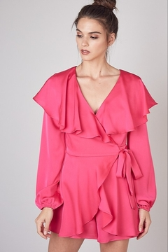 Do & Be Satin Wrap Romper - Product List Image