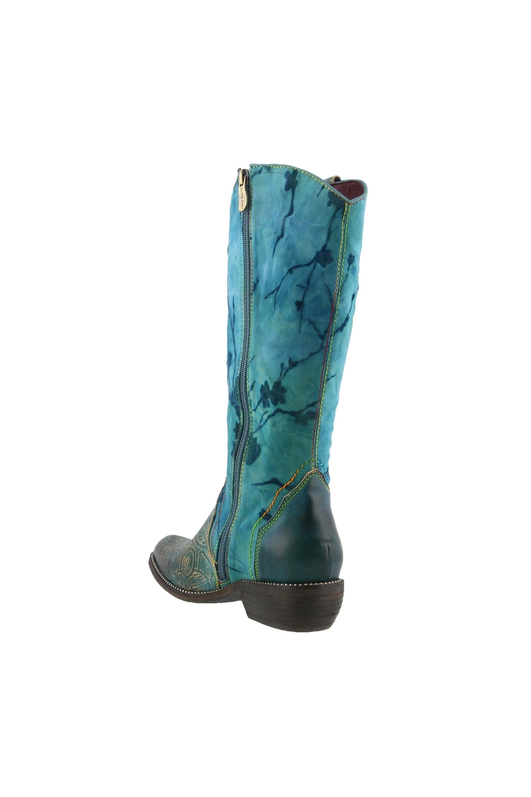 Spring Footwear Saturday-Night Saloon Boot - Back Cropped Image