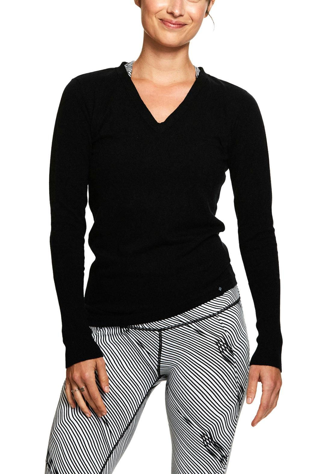 SATVA. Long Sleeve Top - Front Cropped Image