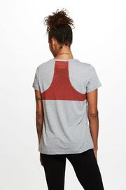 SATVA. Short Sleeve Tee - Front full body