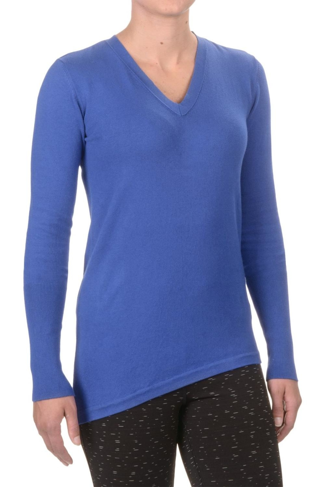 SATVA. V Neck Sweater - Main Image