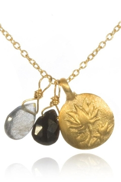 Satya Labradorite Lotus Necklace - Alternate List Image