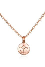 Satya Lotus Necklace - Product Mini Image
