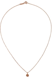 Satya Lotus Necklace - Front full body