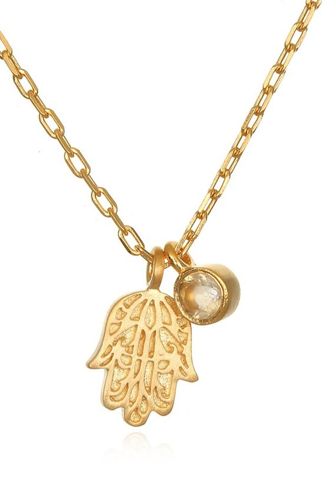 Satya Radiant Blessings Necklace - Front Full Image