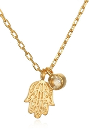 Satya Radiant Blessings Necklace - Front full body