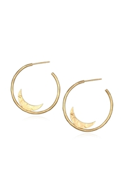 Satya Sacred Moon Earrings - Product Mini Image
