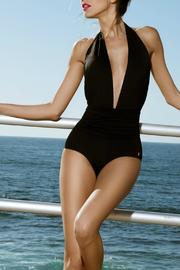 Sauipe Black One Piece - Front cropped