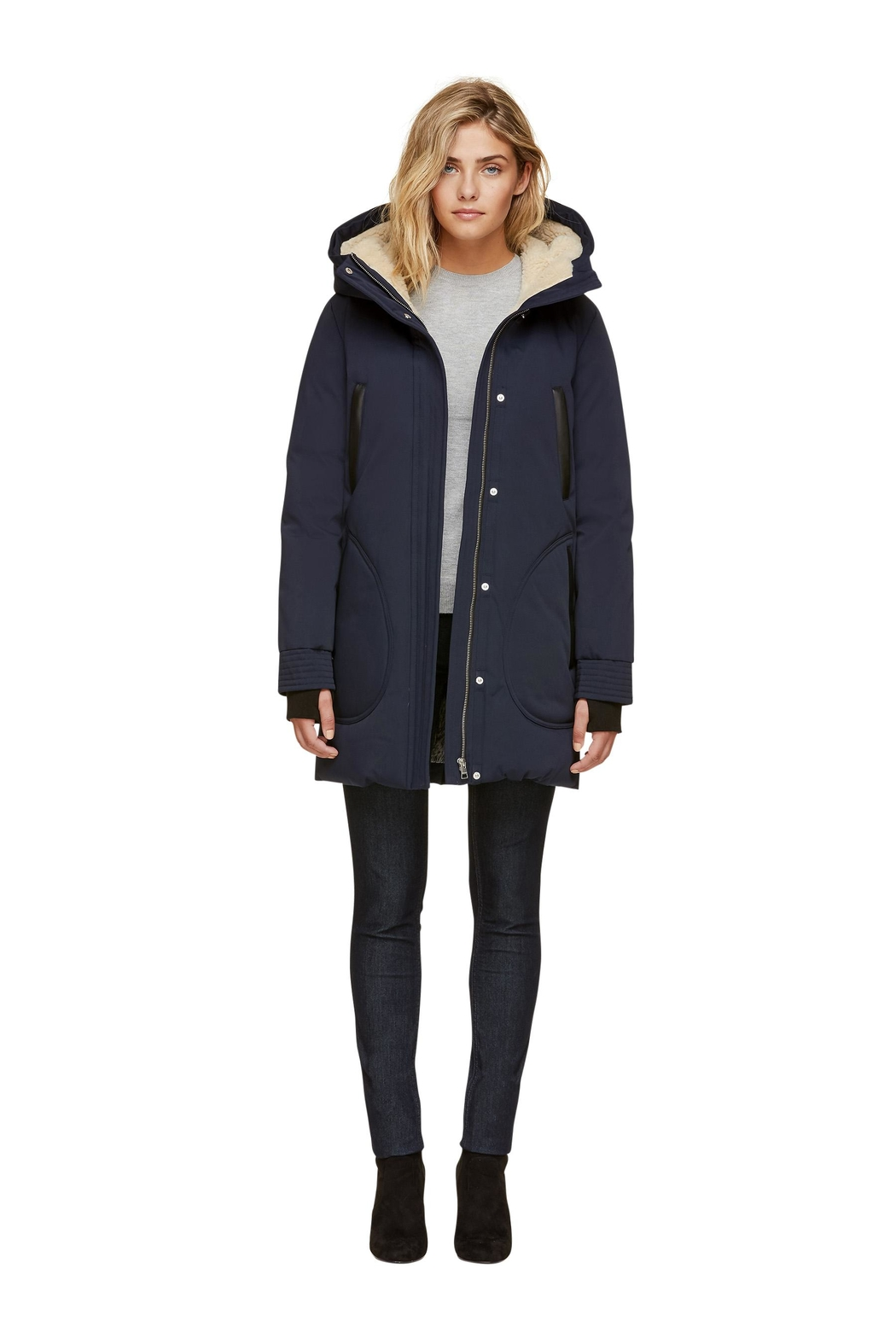 Soia & Kyo Saundra-C Down Coat - Back Cropped Image
