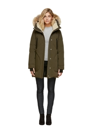 Soia & Kyo Saundra-C Down Coat - Front full body