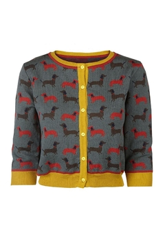 Palava Sausage Dog Cardigan - Alternate List Image