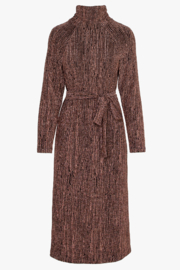 Greylin Savanah Lurex Knit Midi Dress - Product Mini Image