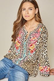 Savanna Jane Embroidered Tunic - Product Mini Image