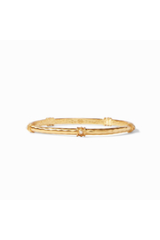 Julie Vos SAVANNAH BANGLE GOLD CUBIC ZIRCON-SMALL - Product Mini Image