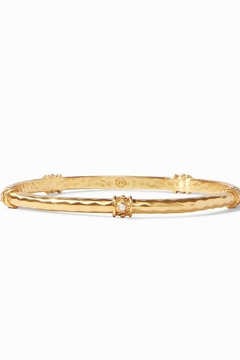 Julie Vos SAVANNAH BANGLE GOLD PEARL-SMALL - Alternate List Image
