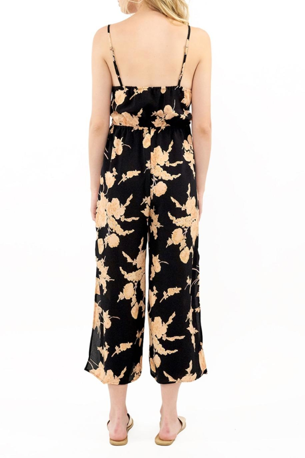 Saltwater Luxe Savannah Floral Jumpsuit - Side Cropped Image