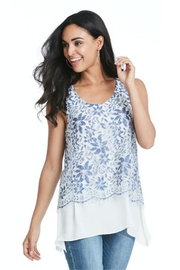 Cartise Savannah Lace Top - Product Mini Image