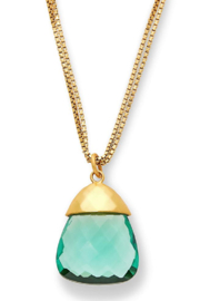 Julie Vos SAVANNAH PENDANT-AQUAMARINE BLUE/GREEN - Product Mini Image