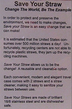 Save Your Straw SAVE YOUR STRAW - Alternate List Image