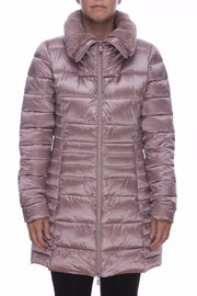 SAVE THE DUCK Fauxfur Collar Coat - Front cropped