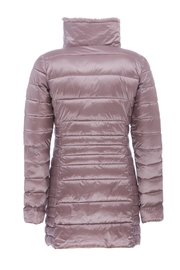 SAVE THE DUCK Fauxfur Collar Coat - Back cropped