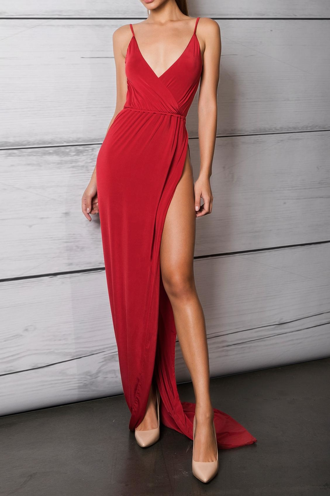 Savee Couture Savee High Slit Dress from Toronto by NakedBodyz ...
