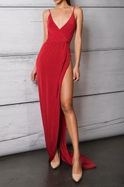 Savee Couture Savee High Slit Dress - Front cropped