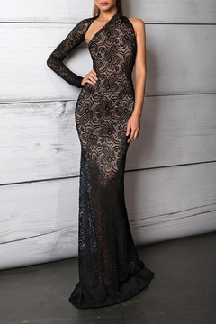 Savee Couture Savee One Shoulder Gown - Product List Image