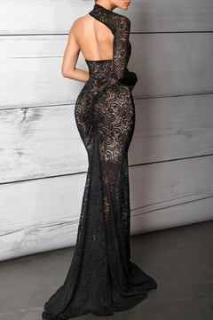 Savee Couture Savee One Shoulder Gown - Alternate List Image