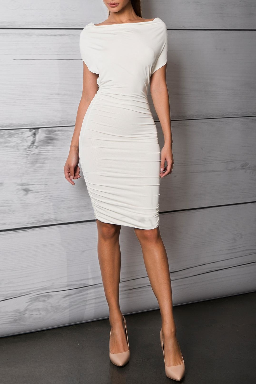 Savee Couture Boat Neck Bodycon Dress From Toronto By