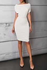 Savee Couture Boat Neck Bodycon Dress - Product Mini Image