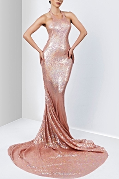 Savee Couture Savee Sequin Maxi Dress - Product List Image