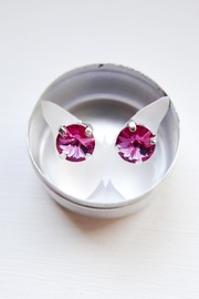 Savvy Designs Rose Post Earrings - Product Mini Image