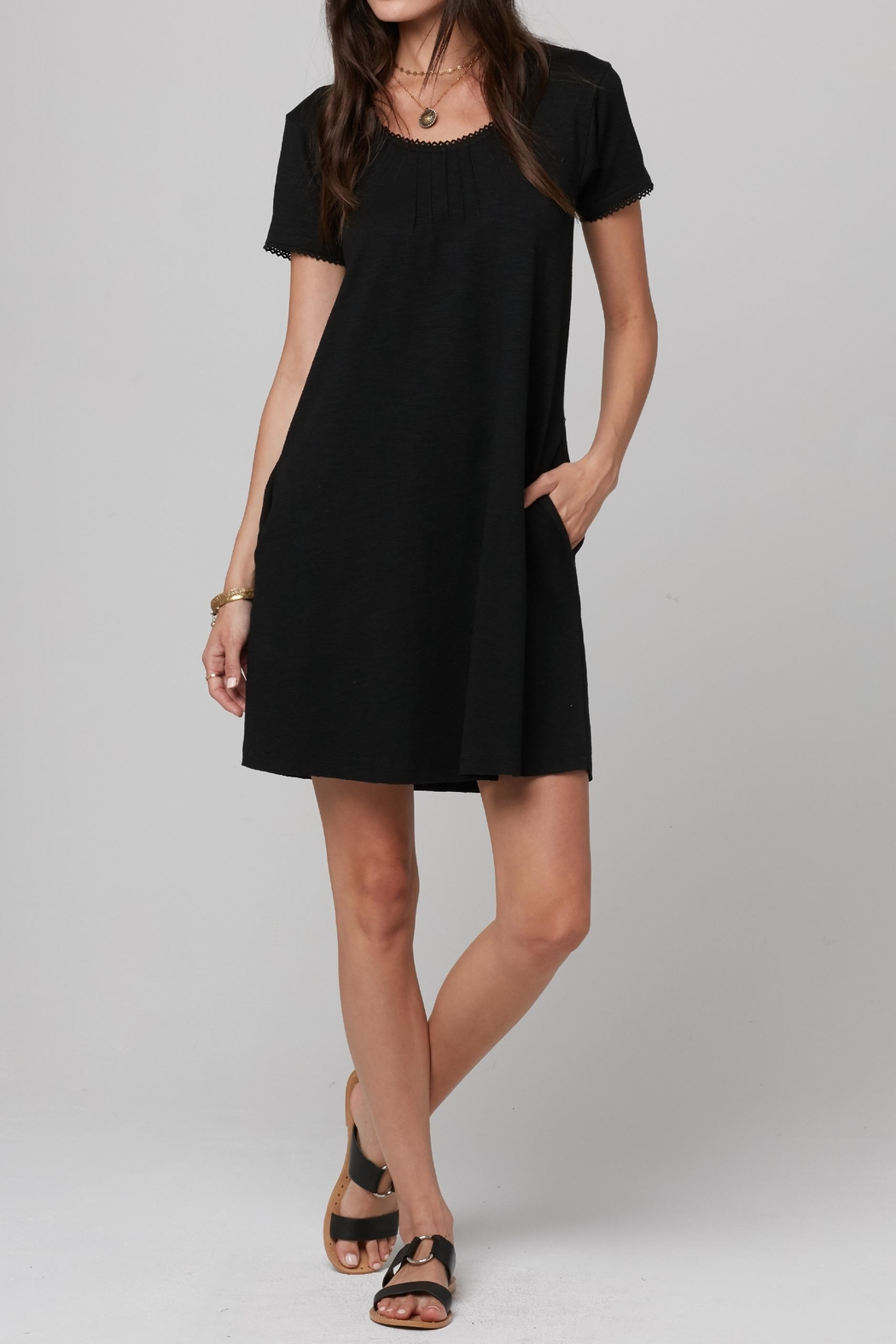Knot Sisters Sawyer Dress - Front Cropped Image