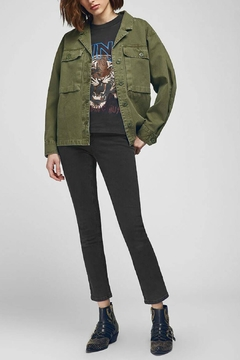 Anine Bing Sawyer Military Jacket - Alternate List Image