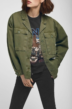 Anine Bing Sawyer Military Jacket - Product List Image