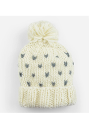 The Blueberry Hill Sawyer Tiny Hearts Hat - Product Mini Image