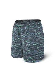 Saxx Cannonball Grey Fishscales - Side cropped