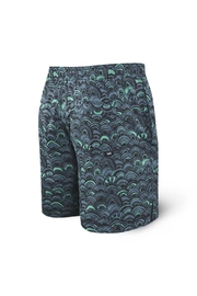 Saxx Cannonball Grey Fishscales - Back cropped