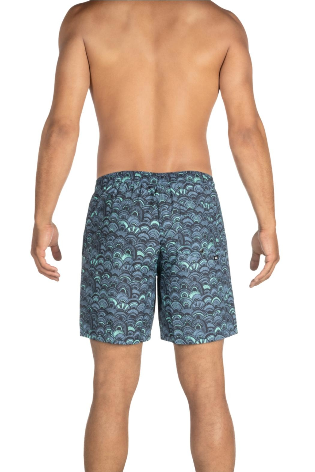 Saxx Cannonball Grey Fishscales - Front Full Image