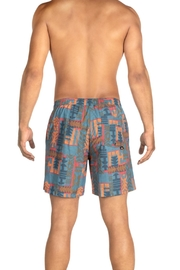 Saxx Cannonball Grey Patchwork - Front full body