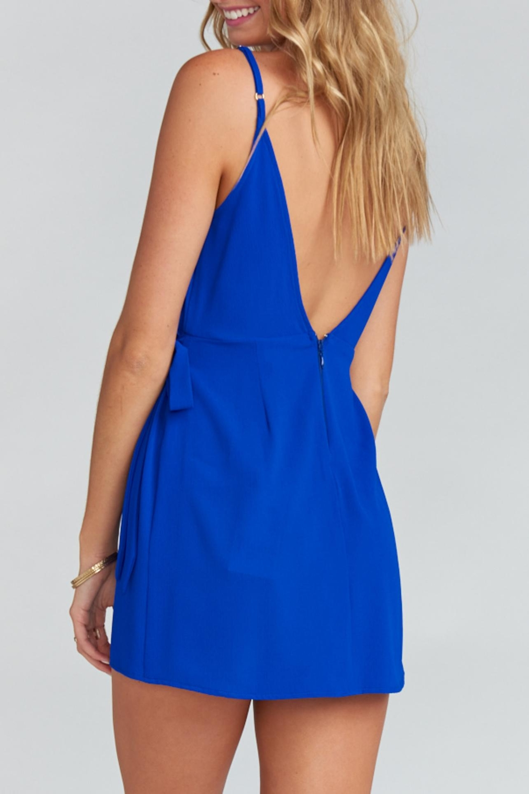 Show Me Your Mumu Say Jay Wrap-Dress - Side Cropped Image
