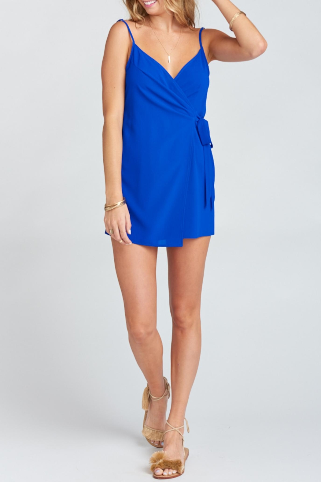 Show Me Your Mumu Say Jay Wrap-Dress - Back Cropped Image