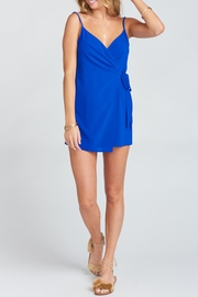 Show Me Your Mumu Say Jay Wrap-Dress - Back cropped
