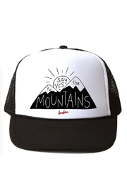 Bubu Say Yes To The Mountains Trucker Hat - Product Mini Image