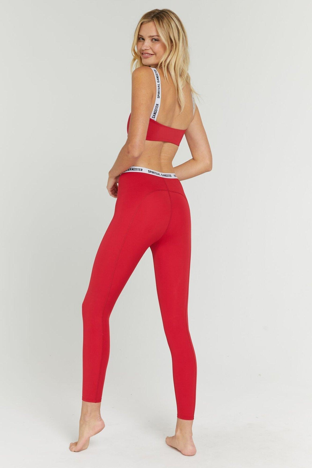 SPIRITUAL GANGSTER Saya Active Legging - Back Cropped Image