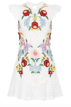 Saylor Embroidered Lizah Dress - Alternate List Image