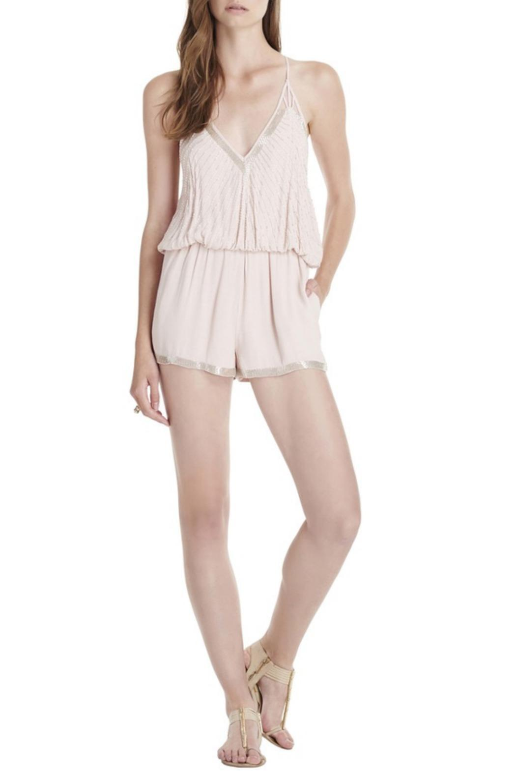 Saylor Hollis Romper Blush - Main Image