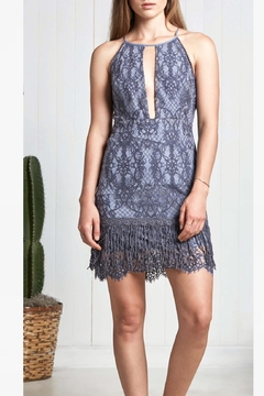 Saylor Blue Lace Dress - Alternate List Image